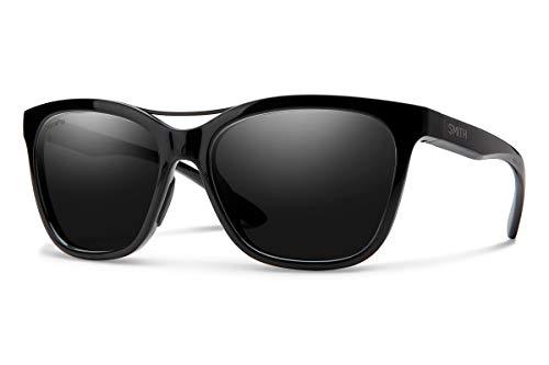 Smith Optics Unisex-Erwachsene Cavalier Sonnenbrille, Mehrfarbig (Black), 55
