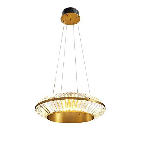 YQDSY Iluminación Colgante de Cristal de Lujo Moderno, Led Re Volando Platillos Línea Lámpara de Lámparas para Comedor Sala de Estar Barra de Sala de Estar Luces Redondas Luces de T