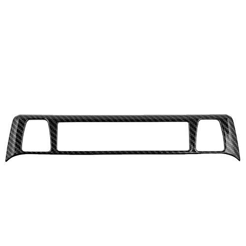 KSTE stoelen van koolstofvezel stijl verwarming schakelaar, decoratie, strip trim fit cover compatibel met - RAV4 2019