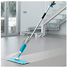Figment Microfiber Floor Cleaning Spray Mop with Removable Washable Cleaning Pad and Integrated Water Spray Mechanism, mop for Cleaning Floor,360 Degree Floor Cleaning Mops (Wet Mop)