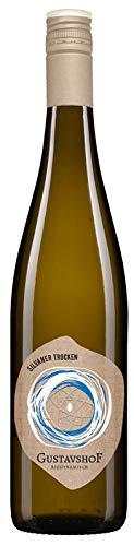 Weingut Gustavshof: Silvaner 2018 trocken mit einem Hauch von Birne und Aprikose. Bio-Wein, Demeter zertifiziert