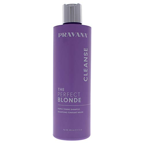 Pravana The Perfect Blonde Purple Toning Hair Shampoo 10.1 Oz Sulfate Free