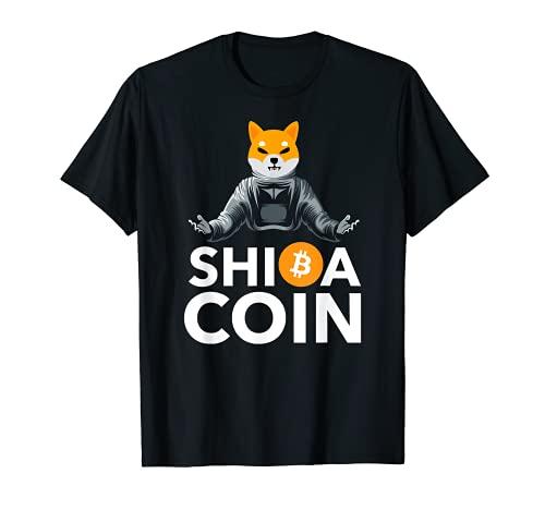 $SHIB Shiba Coin Shirt, Cryptocurrency Shiba Inu Astronaut T-Shirt