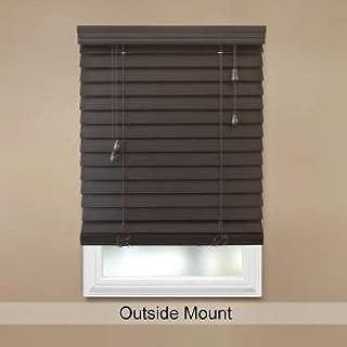 Best home decorators collection 2.5 premium faux wood blind Reviews