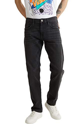 edc by ESPRIT Herren 020CC2B303 Jeans, Schwarz (Schwarz 911), 36/32