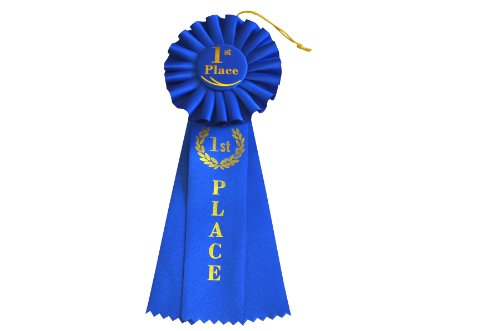 HAYES SPECIALTIES 1st Place Rosette Ribbon