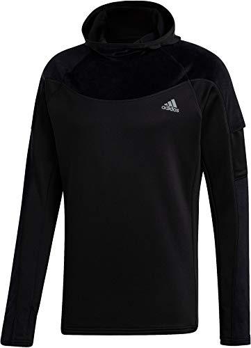 adidas Herren Warm Sweatshirt, Black, M