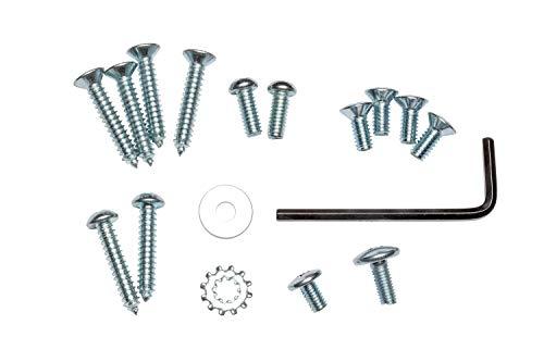 Global Door Controls Compact Commercial Door Closer in Aluminum with Adjustable Spring Tension - Sizes 1-4