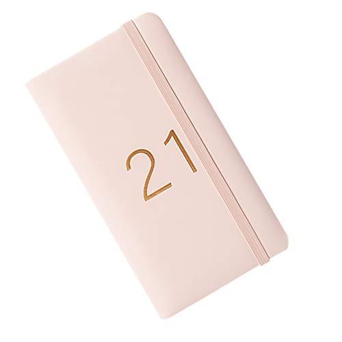 NUOBESTY Wochenplaner 2021 Tagebuch Wöchentlich zum Anzeigen von Notizbuch Kalenderheft für Offizier Zuhause Schule 1 Stück 17. 8X10cm