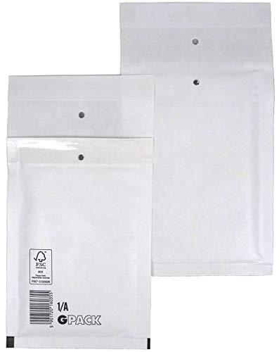200 Stück Luftpolsterumschlag Luftpolstertasche Versandtasche 1/A 120x175 mm