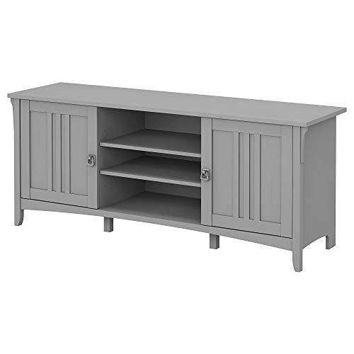 Bush Furniture Salinas Stand for 65 Inch TV, 60W, Cape Cod Gray