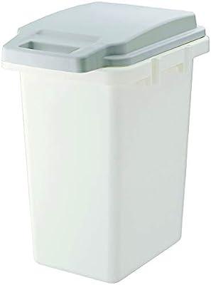 リス 日本製 ゴミ箱 フタ付き 抗菌 ペール 防臭 33JS グレー 33L