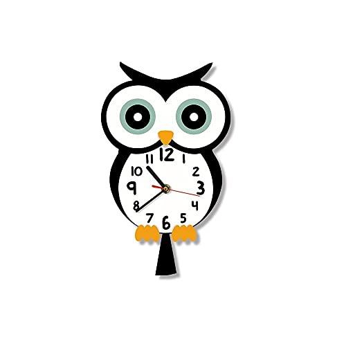 ZHOUJ Dibujos Animados de Dibujos Animados Imprimir Reloj de Pared Baby Wall Watch Home Art Dormitorio Living Dormam Dorm Decor