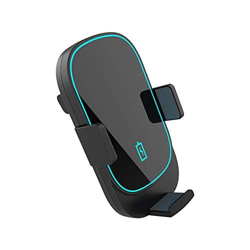 Jinclonder Draadloze autolader, stabiel, niet verwarmend, veilig opladen 360 graden – aanpassing ventilatieopening, zwaartekracht auto navigatiehouder