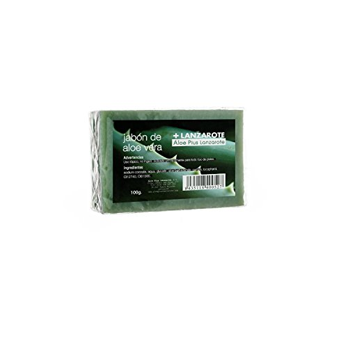 Aloe Plus Lanzarote. Aloe vera face care Soap 100g by Aloe Plus Lanzarote