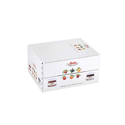 Darbo Kirsch confetture Extra in Mini-Vetro, Pane da Spalla, marmellata, per ristoranti, Hotel, Ufficio, Mensa, 60 Pezzi da 28 g