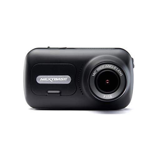 .Nextbase 322GW - Dash-Cam, Auto-Dash-Kamera - Volle 1080p / 30fps-HD-Aufnahme-DVR-Kamera - Vorder- und Rückaufnahmemodule - 140 ° weiter Betrachtungswinkel - Wi-Fi und Bluetooth - GPS - SOS-Notfall…