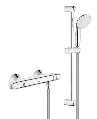 Grohe Grohtherm (Set) thermostaat-douche-accu. 600 mm 600 mm.