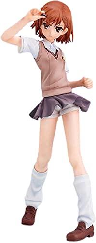 LPJPCR Figura de Anime Misaka Mikoto PersonajeJE Figuras para Adultos Modelo Cosplay PVC Mano Hecho A Mano Estatua Colecionable Decoración de la Decoración Juguete De Regalo 18cm