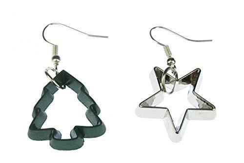 Moldes pendientes galleta de la estrella cortador de galletas de la estrella...
