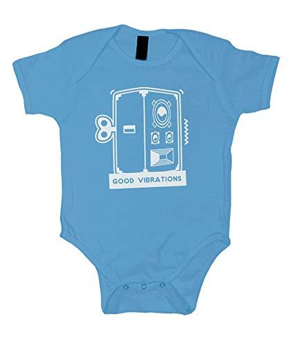 tostadora - Body Gute Schwingungen - Baby Hellblau XL