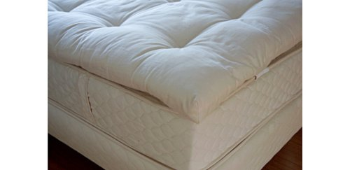 Hot Sale Mattress Pads / Toppers Catskill Organic Cotton and Wool Topper (Full)