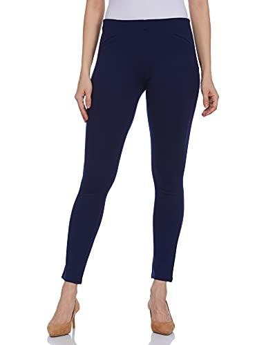 United Colors of Benetton Women's Leggings (16A3TP1E966AI901M_Dark Blue)