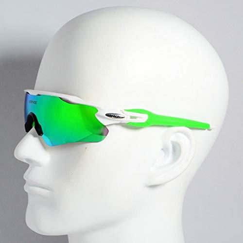 Weizy Gafas de Sol for Ciclismo al Aire Libre, Gafas Deportivas for Ciclismo for Hombres y Mujeres, Gafas for Ciclismo de Montaña y Carretera, Gafas for Ciclismo (Color : 05, Lenses Color : 5lens)