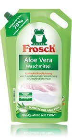 Frosch Waschmittel Aloe Vera flüssig 2er Pack, (2x1,8L) by Frosch