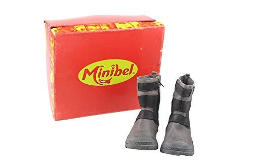 Minibel Kinder Schuhe Stiefel Gr. 31 braun-schwarz Neu