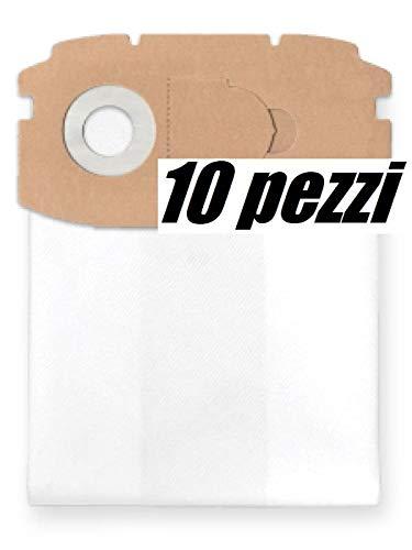 NIKOSbags 10x Sacchetti per aspirapolvere in Tessuto, Adatto per Festool CTL Mini