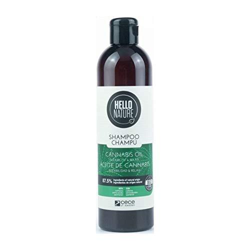 Hello Nature Hello Nature Cannabis Oil Shampoo (Champú De Aceite De Cannabis)...