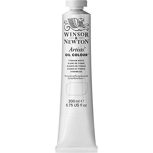 Winsor & Newton Artists - Tubo óleo, 200 ml, color blanco de titanio