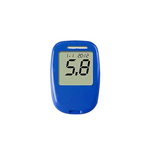 Fácil de Manejar, Kit de medidor de glucosa en sangre Detector de diabetes portátiles Detector de glucosa en sangre Sistema de medición de glucosa 100 Prueba de lanceta Lanceta Regalos para la Familia