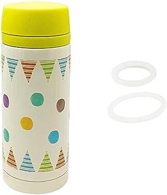 丸和貿易 マグボトル ルシェルシュ ボトル&パッキンセット (S) 350ml ポルカフラッグ
