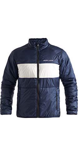 Henri Lloyd Herren Maverick Liner Mid Layer Coat Jacke - Navy Block - Leicht atmungsaktiv