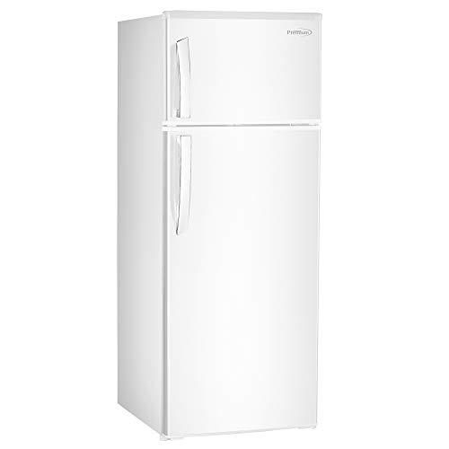 Premium PRF735HW 7.4 cu. ft. Refrigerator with Top Freezer, (White)