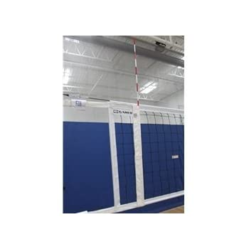 Volleyball Net Antenna and Sideline Marker Combo
