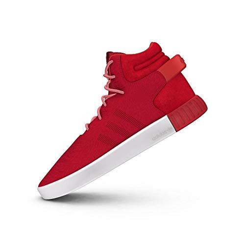 Adidas OriginalsTUBULAR Invader - Zapatillas Altas - Red/Vintage White