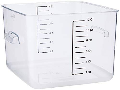 Rubbermaid Commercial Products J874Rubbermaid Commercial Products Space Saver Container, 12l