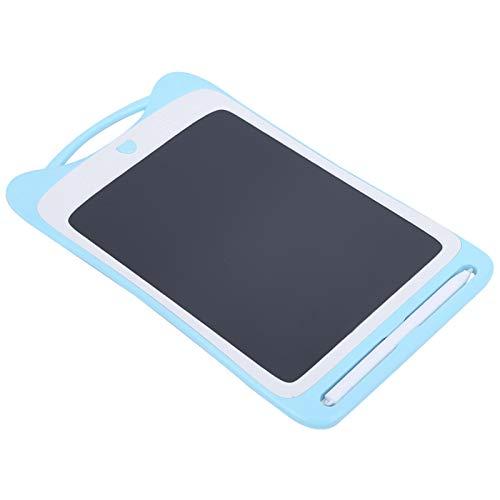 Exliy Tableta de Escritura de Color, Pizarra de Dibujo electrónico, Tablero de Dibujo de Escritura a Mano, Tableta gráfica CR2016(Blue)