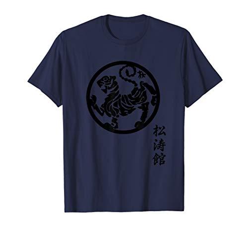 Karate Shirt Shotokan, Shotokan Tiger, Shotokan Calligraphy T-Shirt
