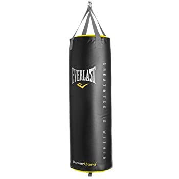 Academy Sports Everlast Powercore 100 lb Synthetic Leather Heavy Bag