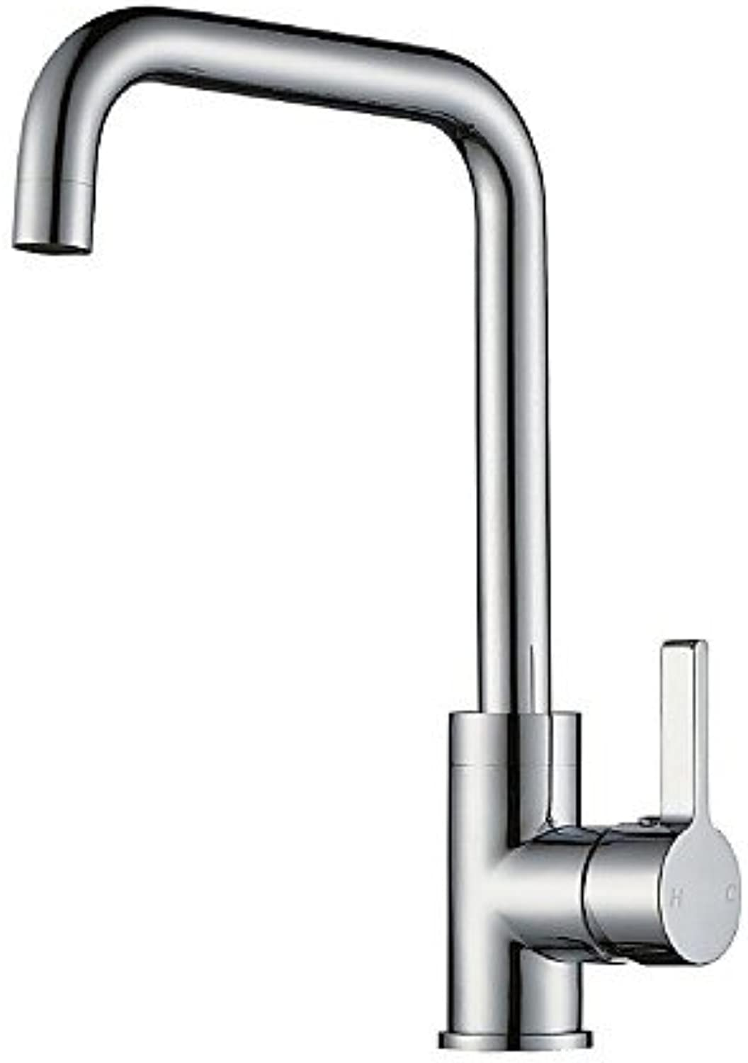 Bbslt-0.5?Brass of Contemporary Kitchen Faucet (Stainless Steel) Cold and Hot Water Kitchen Faucet
