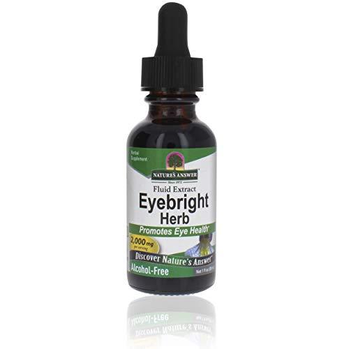 Nature\'s Answer | Eyebright (Augentrost) | Alkoholfrei | 2000 mg | 30 ml | glutenfrei