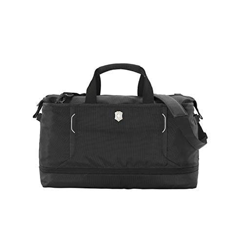 Victorinox Werks Traveler 6.0 XL Weekender Bag with Zipper Expansion, Black, 14.2-inch