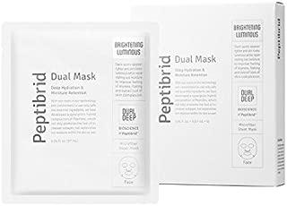 Vitabrid Peptibrid Dual Mask Brightening Luminous Facial Mask Pack