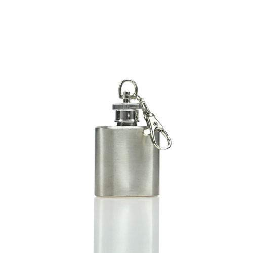 1 4 5 6 7 8 9 10 18 oz Hip Flask RVS Pocket Drink Whisky Flasks TOP (1OZ.)