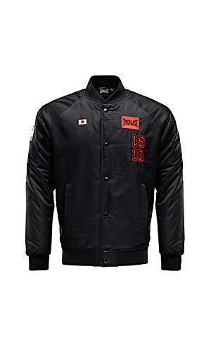 Everlast Sports Abrigo de Vestir, Negro, M para Hombre