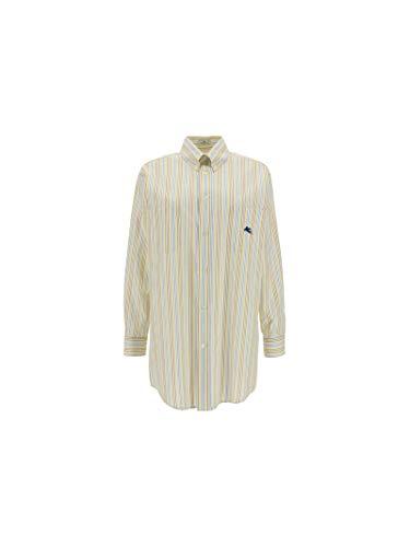 Etro Luxury Fashion Damen 143066801700 Gelb Andere Materialien Hemd | Ss21